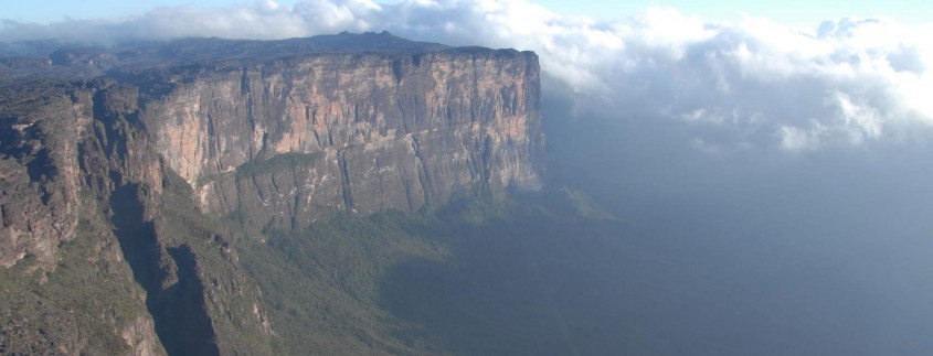 Roraima Tepui as seen from the air